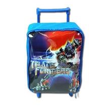 Mochila Transformers Com Rodinhas