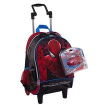 Mochila Carrinho Grande Spider-man Homem Aranha Sestini