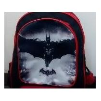 Mochila Batman Escolar Rodinhas Pronta Entrega