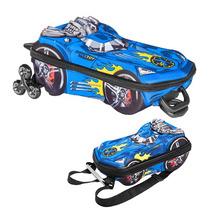 Mochila Max Turbo Azul 3d
