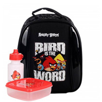 Lancheira Térmica Angry Birds Preta - Abl502501
