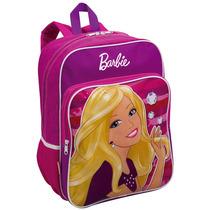 Mochila Barbie 23lts, Poliéster, Compart. Interno - Sestini