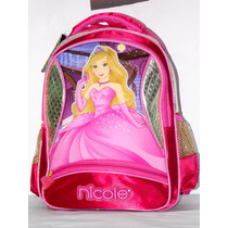 Mochila Escolar Infantil Feminina Nicole