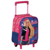 Mochila De Carrinho Barbie Adolecente P - Rosa - Sestini