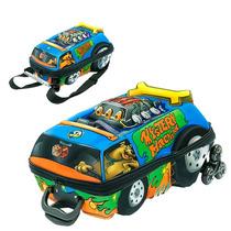 Kit Mochila Scooby-doo! Turbo Grande C/ Roda + Lancheira 3d