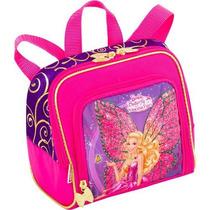 Lancheira Barbie Butterfly E Princesa Fairy Roxa - Sestini