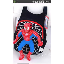 Mochila Infantil 3d Homem Aranha