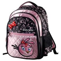 Mochila Feminina Angry Birds Infantil Escolar Abm502001