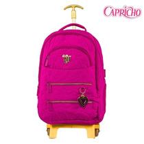 Mochilete Capricho Coleção 2016 48598-rosa