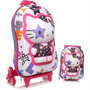 Mochila + Lancheira Hello Kitty Star Roxa Max