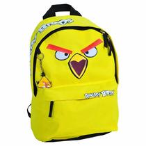 Mochila Juvenil Angry Birds Amarela De Costas Abm12003u20