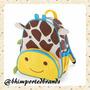 Mochila Infantil Skip Hop Zoo Original - Girafa