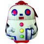 Mochila Mini Bag Infantil C/ Rodinhas E Alças Robô P Spector
