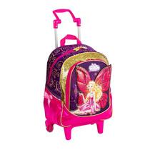 Mochila De Rodinhas M Barbie Butterfly - 63083