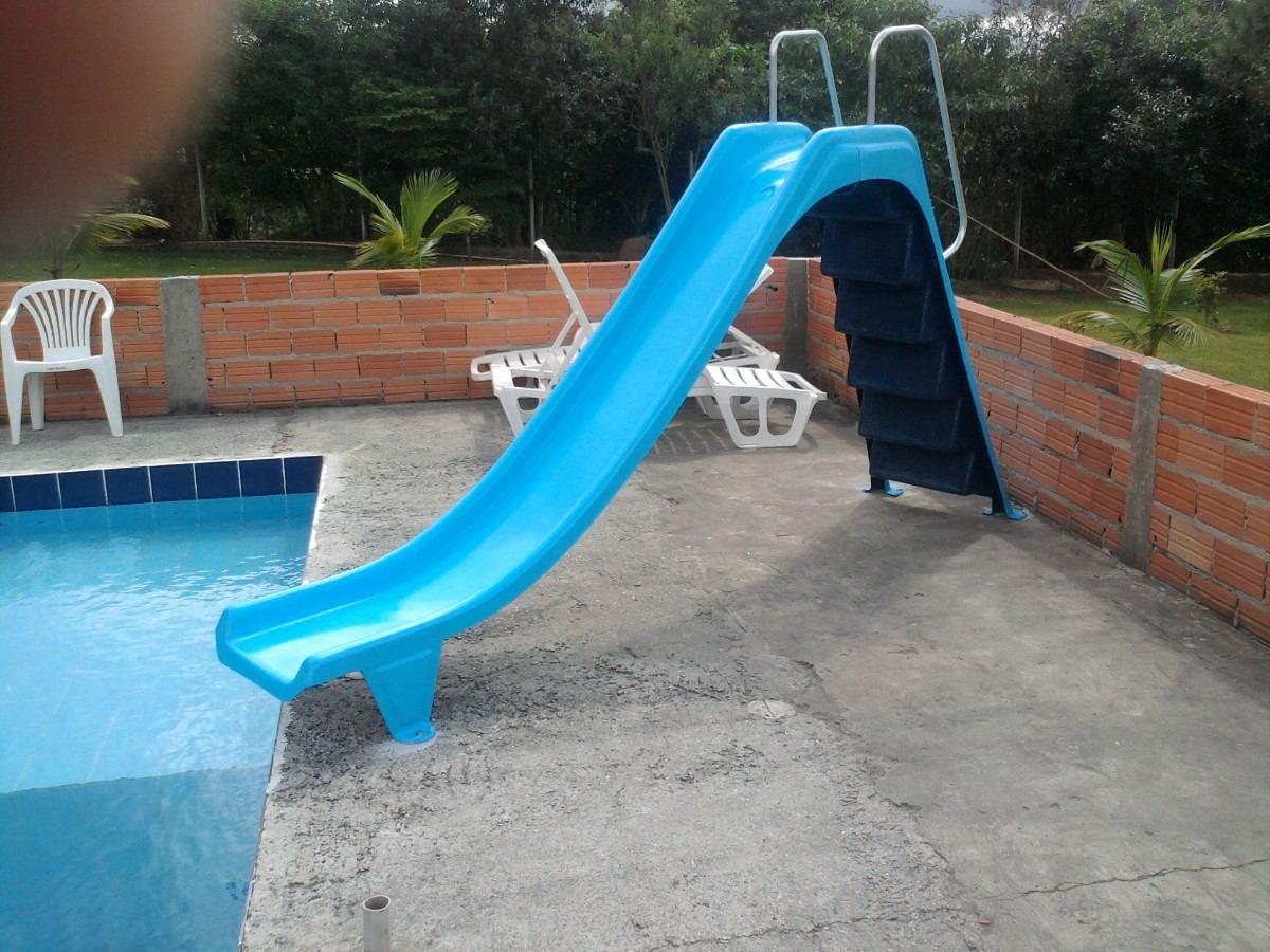 Escorregador para piscina em fibra acess rios para for Piscina fibra em l