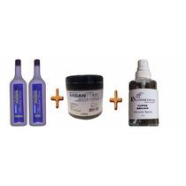 Semi Definitiva Absolut Liss + Botox + Super Brilho