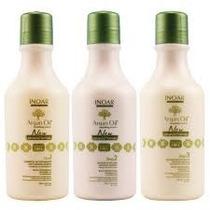 Inoar Argan Oil System Kit (3 Produtos)