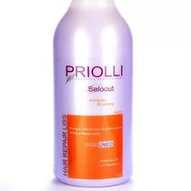 Progressiva Orgânica Priolli1000ml +oléo Argan=frete Grátis