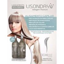 Escova Progressiva Lisonday Titanium 1l Ocean Hair S/formol