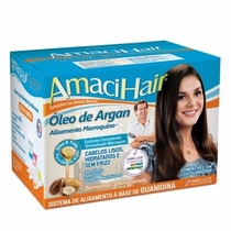 Alisamento Marroquino Amaci Hair Com Óleo De Argan