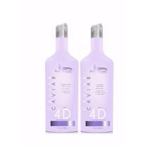 Escova Progressiva Caviar 4d Da Master Hair Com Biotox