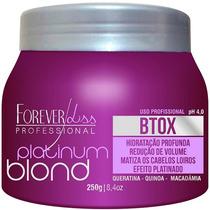 Forever Liss Platinum Blond Btox Intensive Matizador 250gr
