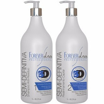 Forever Liss Escova Semi Definitiva Power 3d System + Brinde