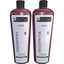Kit Alise Facil Gold 1 Litro (sem Formol) Ácido Glioxilico