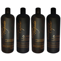 2 Kit G Hair Inoar Escova Progressiva Marroquina (4 X1litro)