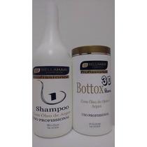 Kit Botox Capilar Bellahair Cabelo100% Lisos 100g + Shapoo