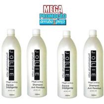 Escova Inteligente Jolie 2 Escovas 2 Shampoos