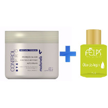 Botox Madame Lis Control Pró 500g + Óleo De Argan