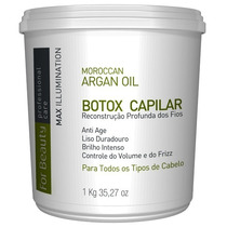 Btox Capilar For Beauty Max Illumination 1 Kg+ Brinde+frete