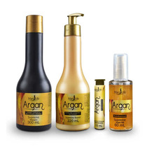 Kit Escova Progressiva + Botox + Óleo Supreme Argan