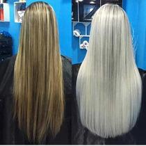 Escova Sem Formol Platinum Blond Teryne Alisa Afro 100%