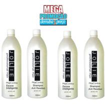 Escova Progressiva Inteligente Jolie 2 Escovas 2 Shampoos