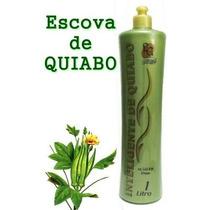 Escova De Quiabo + Brinde Máscara La Cosméticos 1 Kilo