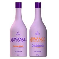 Gaboni Kit Advance Plus - Cabelos Lisos S/ Formol 2x 1000ml
