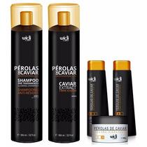 Escova Pérolas De Caviar Progressiva Widi Care + Manutenção