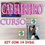 Cabelereiro Curso 14 Dvds Aulas Completo! Pague Mercado Pago