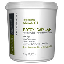 Escova Max Illumination For Beauty Argan Oil Reconstrucao