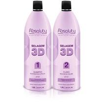 Selagem 3d Absoluty Color - Cabelo 100% Liso + Brinde