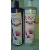Escova Progressiva Blond Magnific Hair 2x1 Lt