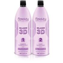 Selagem 3d Absoluty Beauty Cabelo 100% Liso + Brinde