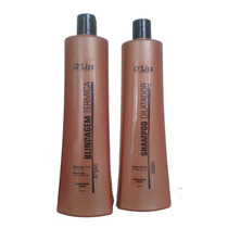 Blindagem Térmica Sem Formol / Shampoo Antirresiduo 1 Litro