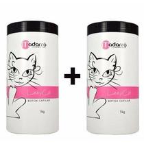 Kit 2 Redutores De Volume Capilar Lizzy Cat 1kg + Frete/brin