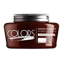 Fine Professional Colors Máscara Marrom Chocolate - 250g