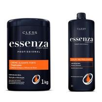 Creme Alisante Essenza Forte 1kg + Neutralizante 500ml
