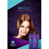 03 Kits Progressiva Biorganic 0% Formol E Derivados 1l