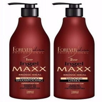 Forever Liss Escova Progressiva Ingel Maxx 2x100ml #949t